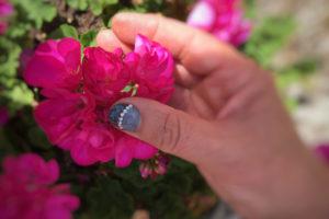 fleur ongles