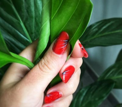 Ongles rouge